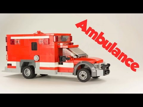Lego Custom Ambulance Instructions