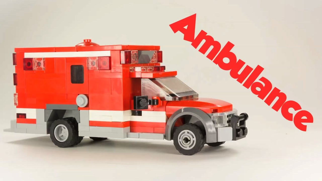Custom Lego Vehicle Ambulance Instructions Download In Description