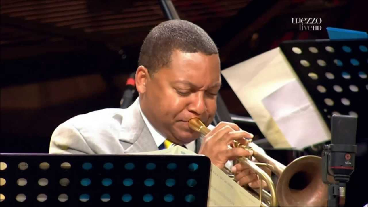 an analysis of the jazz music performance of wynton marsalis in the video jazz in marciac 2009