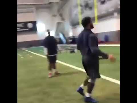 "Aaron Donald training in David Kahn Krav Maga Football Combatives with Al ""Poodie Carson"""