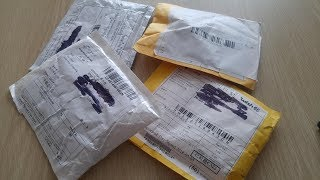 Unboxing. Zakupy na Aliexpress i Wish.com