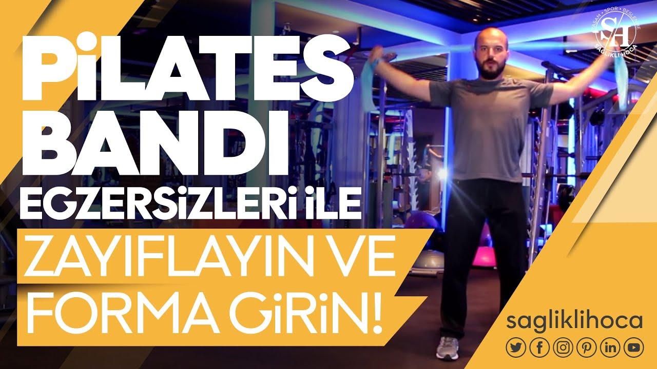 Pilates Bandı Egzersizleri ile Zayıflayın ve Forma Girin!