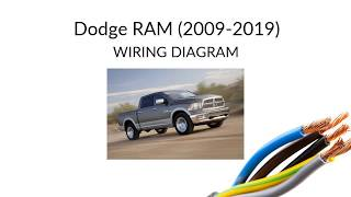 dodge ram - wiring diagram - manual (2009-2019) - youtube  youtube