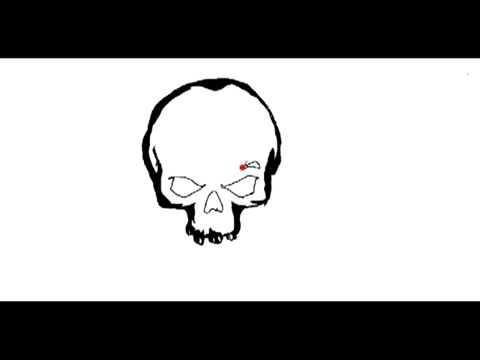 Zeichne Einen Totenschadel Skull Totenkopf Gabz Einfach Und Simpel
