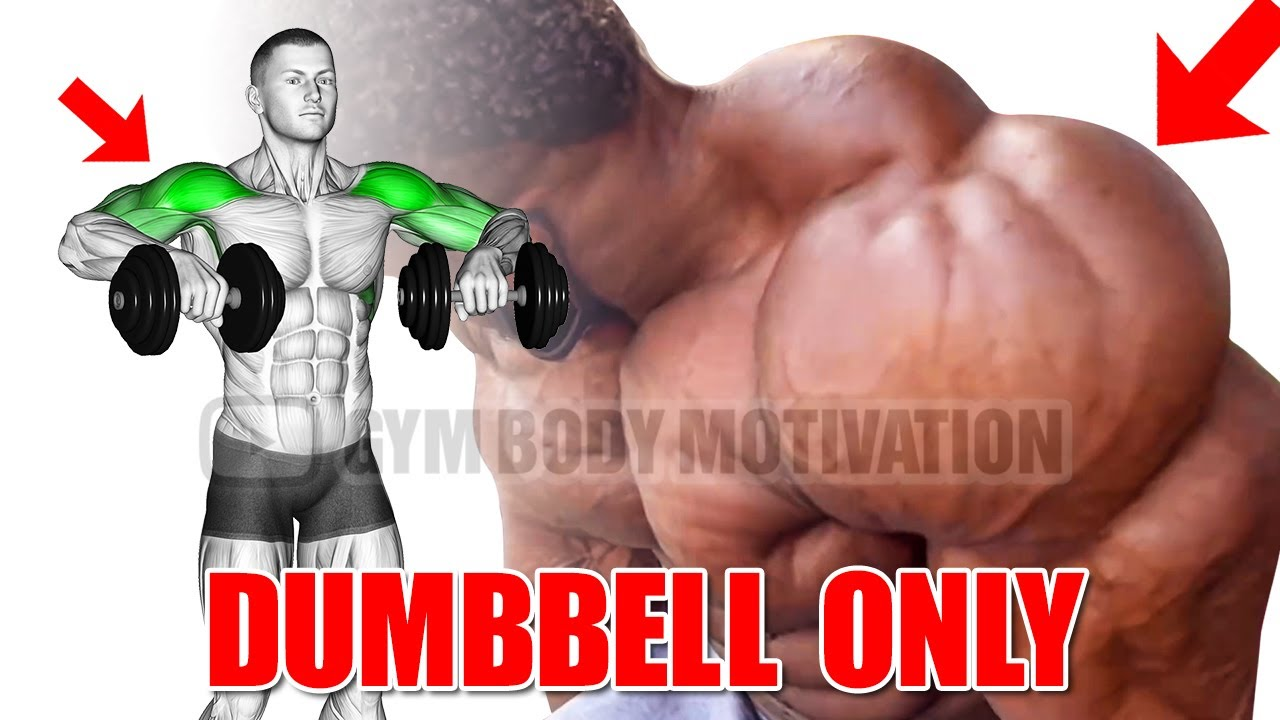 9 BEST SHOULDERS WITH DUMBBELLS ONLY