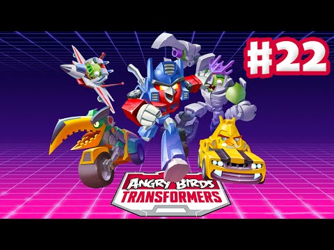 Angry Birds Transformers - Gameplay Walkthrough Part 22 - Prowl and Bluestreak Rescued! (iOS)