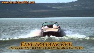 Electric Boat 24   Electratank  Intelligent Battery Management System
