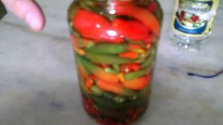 Pimenta em conserva – de um Jeito Fácil