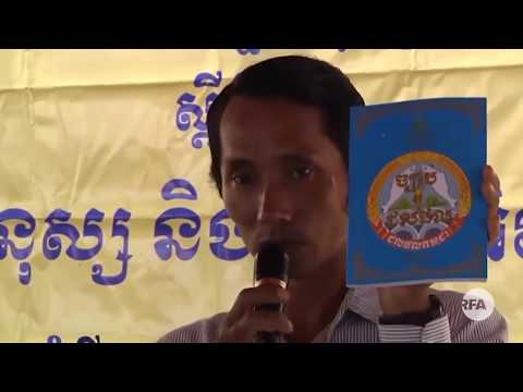 RFA Khmer: Chhut Vuthy's Family Asks For Justice