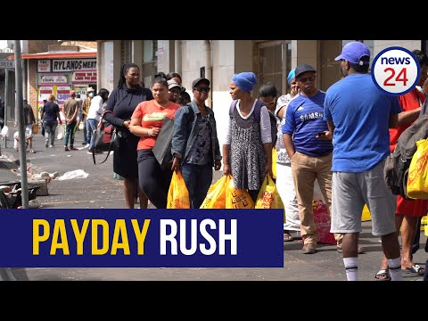 WATCH   Post Payday Rush: CT Residents Scramble For Essentials In Athlone