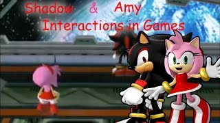 Shadow and Amy - Interactions in Games