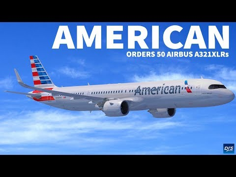 American Airlines Orders A321XLR
