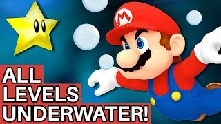 Is it Possible to Beat Super Mario 64 if All Levels are Flooded with Water?