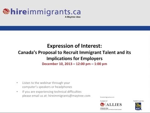 Expression of interest canadas proposal to recruit immigrant expression of interest canadas proposal to recruit immigrant talent implications for employers thecheapjerseys Gallery