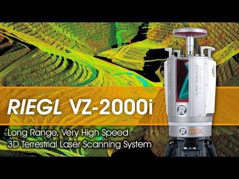 RIEGL Ultimate LIDAR: VZ-2000i Waveform-LIDAR Technology for Mining Applications