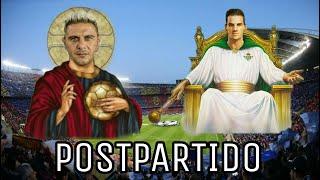 POSTPARTIDO| FC Barcelona 3-4 Real Betis|