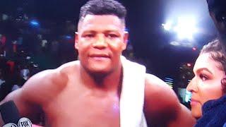 Wilder Vs Ortiz 2 Post Fight