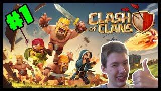 Clash of Clans #1 - Mätúci začiatok | SK Let's play | facecam | HD