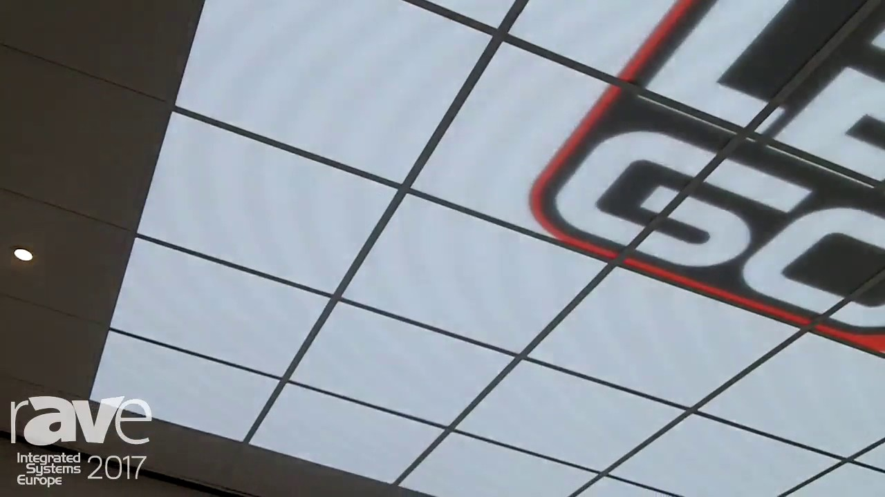 Ise 2017 ledgo showcases led display in ceiling tiles youtube ise 2017 ledgo showcases led display in ceiling tiles dailygadgetfo Choice Image