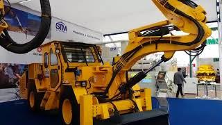 Exhibición de maquinarias en Expomin 2018 thumbnail