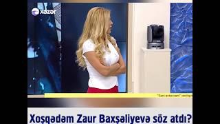 """Xoşqədəm Zaur Baxşəliyevə söz atdı? """"Biz verilişdə ev, maşın vermirik"""""""
