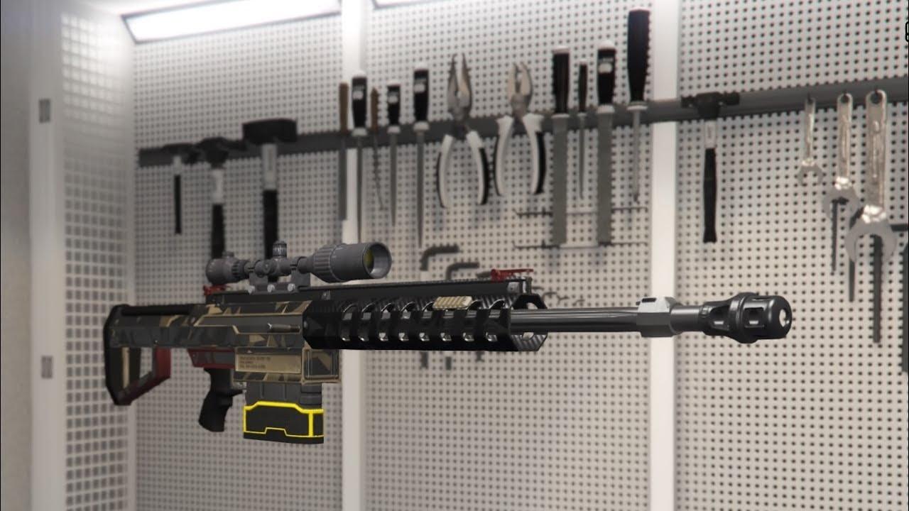 how to get explosive sniper in gta 5