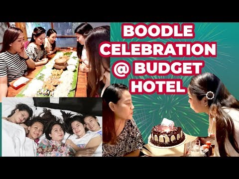 Bday Celebration At BASIC ROOMS BUDGET HOTEL W/ GF's + BOODLE Fight Package 😁