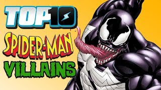 Top 10 Spider-Man Villains w/ DEATH BATTLE's Wiz