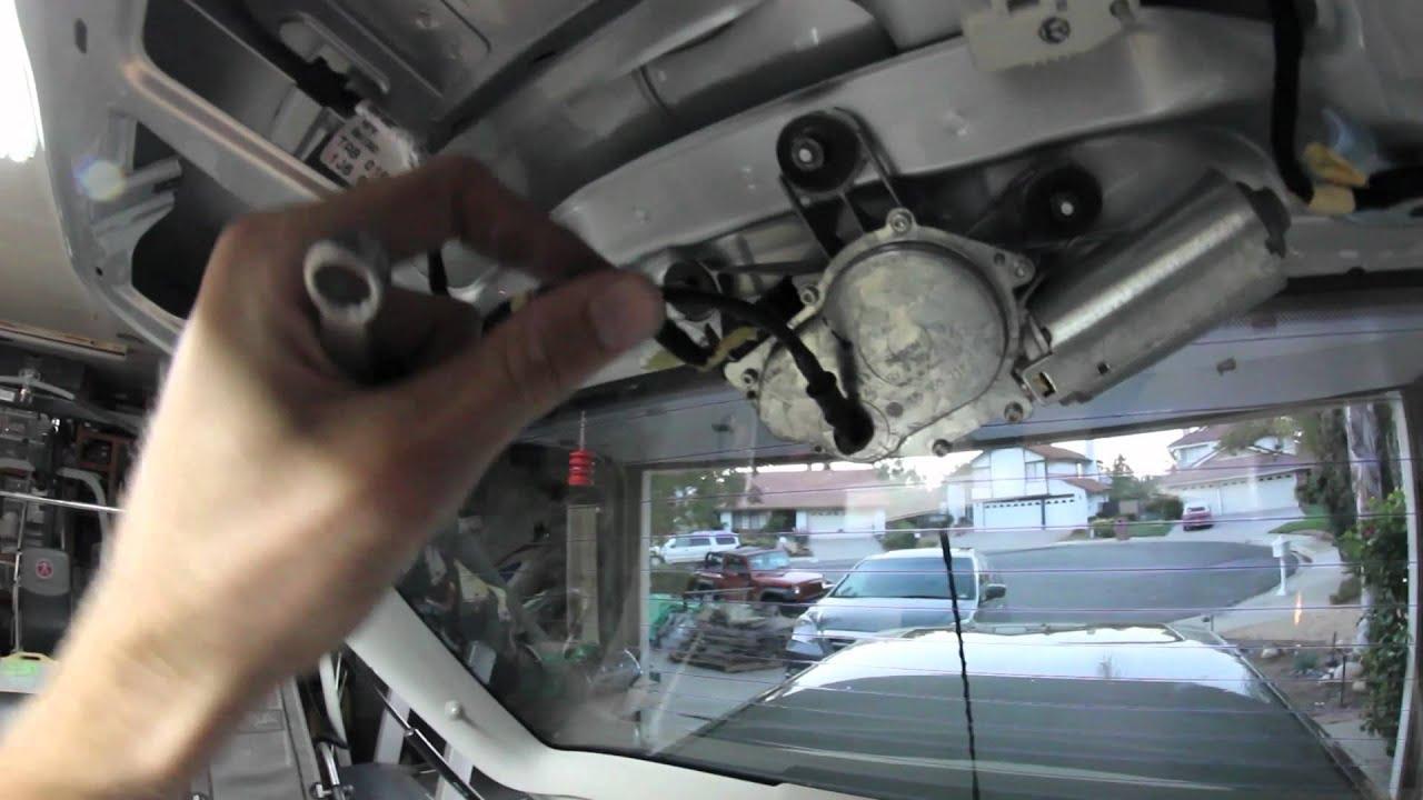 Volkswagen GTI: Rear Windshield Wiper Delete  YouTube