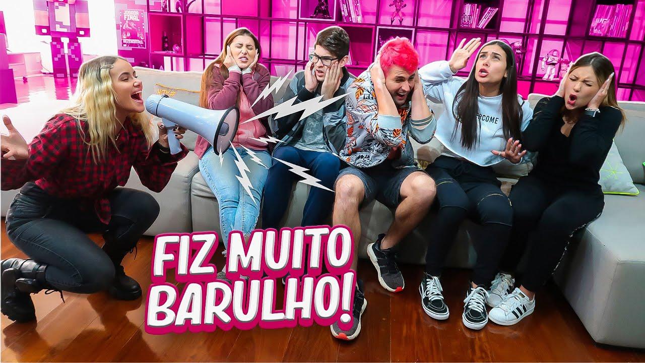 IRRITEI MEUS AMIGOS COM O MEGAFONE POR 24 HORAS NA CASA DE QUARENTENA!!!