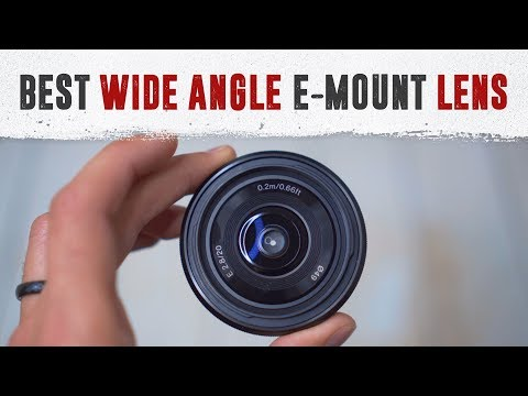 Best Wide Angle Lens for Sony a6000 Series Cameras: Sony 20mm F2.8 Review