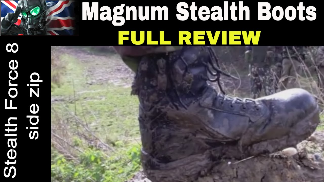 6d7dfe32e84 Magnum Stealth Force 8 CP CX ST Waterproof Boots Review ~ Best Lightweight  Tactical Boot for Outdoor