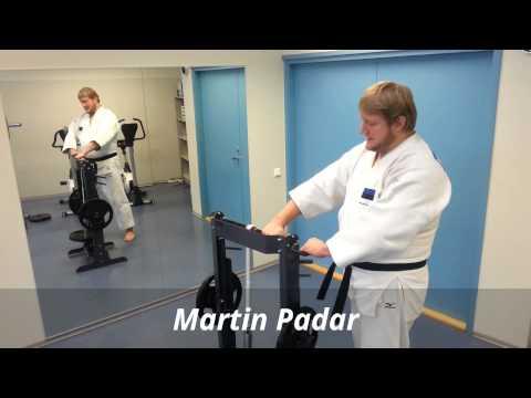 European Judo Champion Martin Padar Workout With Wrist Equipment