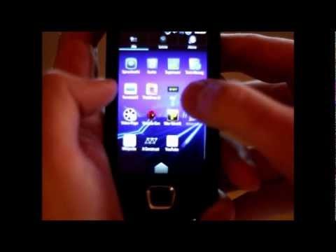 Samsung Galaxy 3 GT-I5800 @ 1.0 GHz using G3 Kernel