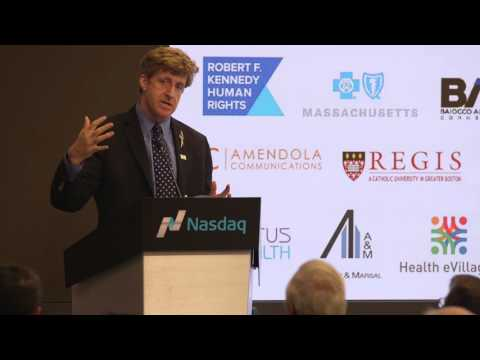 Health eVillages Social Entrepreneurship Award: Congressman Patrick Kennedy