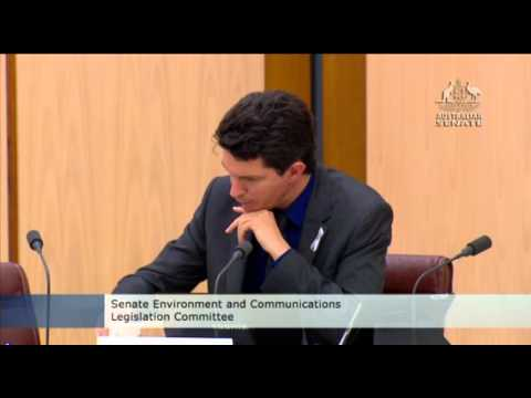 Senator Ludlam asks questions to NBN Co and Executive Chairman Dr. Zigmund Switkowski