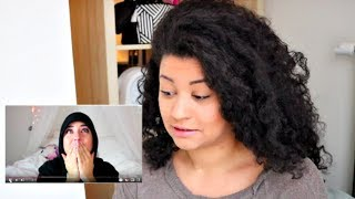 Natural Reacts To White Girl Relaxing Hair thumbnail