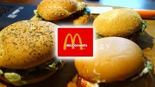 [Ffd] Mcdonald'S - Amore Italia, Grandburger, Fiestaburger, Szpinak Deluxe