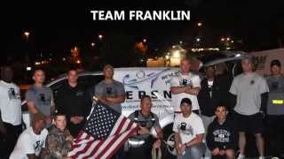 2012 Pendleton to the Palms Relay Charity Run for US Marine Sgt Milan Franklin