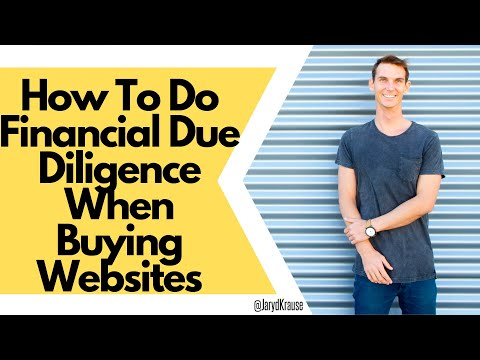 How To Do Financial Due Diligence When Buying Websites
