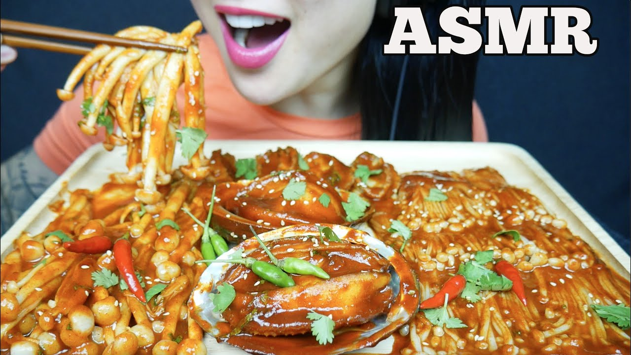 Asmr Abalone Enoki Mushrooms Crunchy Soft Eating Sounds No Talking Sas Asmr Youtube As for the stock that is called for in this recipe, there is quite a bit of flexibility with regards to the type of stock which best suits your palate and lifestyle. asmr abalone enoki mushrooms crunchy soft eating sounds no talking sas asmr