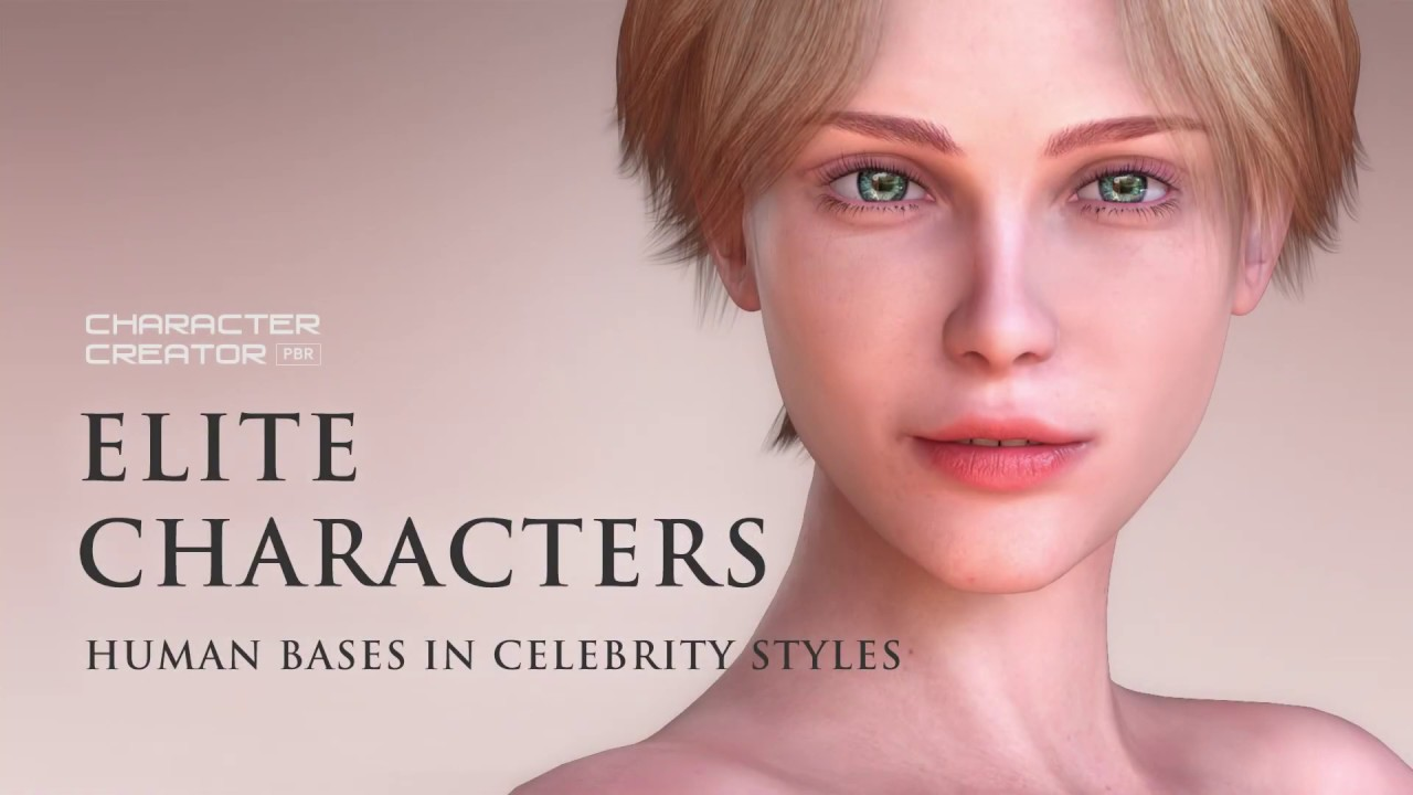 Character Creator 3 - Content Pack: Elite Characters