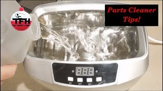 Cleaning Reel Parts In An Ultrasonic Cleaner
