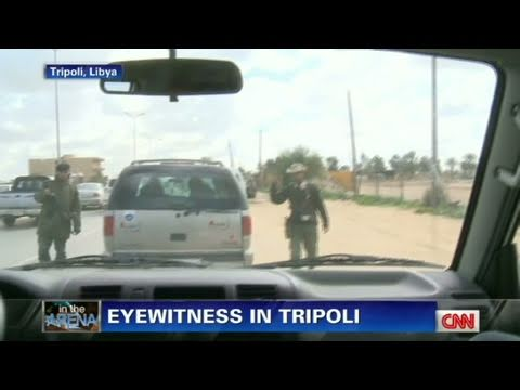 CNN: 'Snipers are everywhere' in Tripoli
