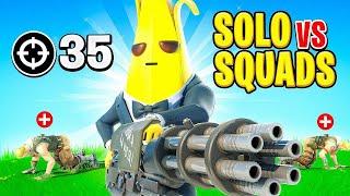 Solo vs Squad WORLD RECORD Attempt! (Fortnite Battle Royale)