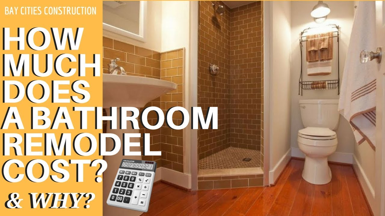 Bathroom Remodel How Much Does A Bathroom Remodel Cost And Why - How much does a full bathroom remodel cost