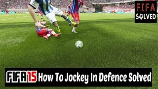 FIFA 15 Defending Tips - Jockeying In Defence