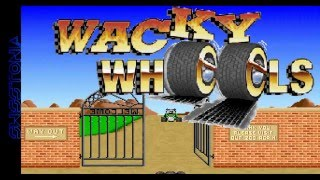 Classic Game Gameplay: Wacky Wheels --- 1994, Apogee Software, MS-DOS