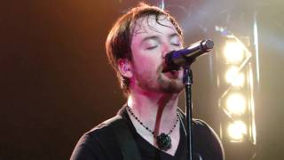 "David Cook Shawnee, OK ""Man In The Box"" & Banter 11-6-09"