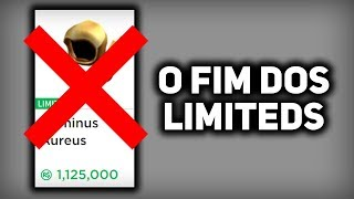 IT'S THE END OF THE LIMITEDS IN ROBLOX!!!